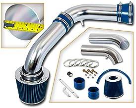 Rtunes Racing Short Ram Air Intake Kit + Filter Combo BLUE Compatible For 02-07 Dodge Ram 1500 3.7 4.7L / 03-07 Dodge Ram ...