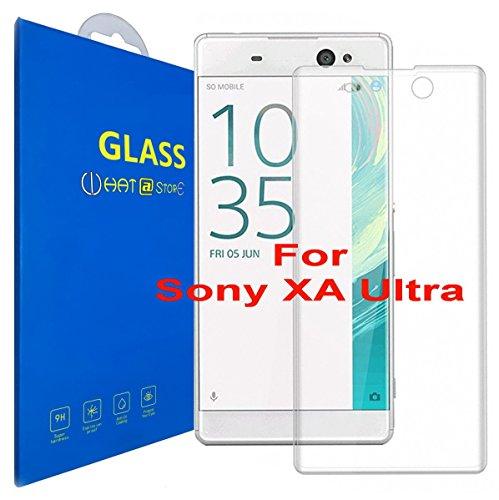 Sony Xperia XA Ultra - Curvo 3D Pellicola Protettiva Vetro Temperato, 3D da Bordo a Bordo Copertura Completa con Pellicola Proteggi Schermo per Sony Xperia XA Ultra / Sony Xperia XA Ultra Dual