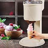 YYAI-HHJU Máquina para Hacer Helados, Mini Máquina De Helados De Fruta Suave Completamente Automática, Cocina Casera Sencilla Sin Lácteos