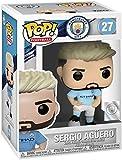 Funko - Pop! Football: Manchester City - Sergio Agüero Figura De Vinil, Multicolor (42789)