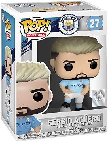 Funko POP! Vinyl Football: Manchester City - Sergio Agüero, Mehrfarben