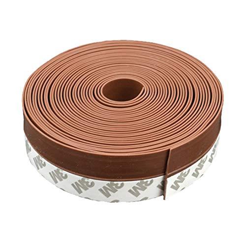ブラウン 隙間テープ 6m ドア 窓 すきま 防止 暑さ 寒さ 騒音 臭い 対策 防音 風防止 ホコリ 花粉 防止