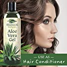 Pure Aloe Vera Gel from Fresh Cut Aloe Leaves for Natural Skin Care - 99.8% Cold Pressed Aloe - Thin Aloe Gel Formula for Skin, Face, Hair, Daily Moisturizer, Aftershave Lotion, Sunburn Relief, Burn Care - 8 ounce #2