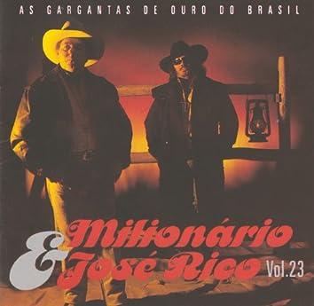 As Gargantas de Ouro do Brasil (Volume 23)