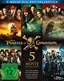 Pirates of the Caribbean 1-5 Box [Blu-ray] - Johnny Depp
