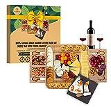 Traversa Bamboo Cheese Board Set...