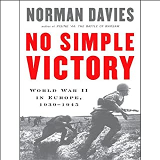No Simple Victory audiobook cover art