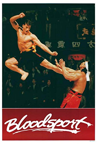 Bloodsport POSTER Movie (27 x 40 Inches - 69cm x 102cm) (1988) (Style B)