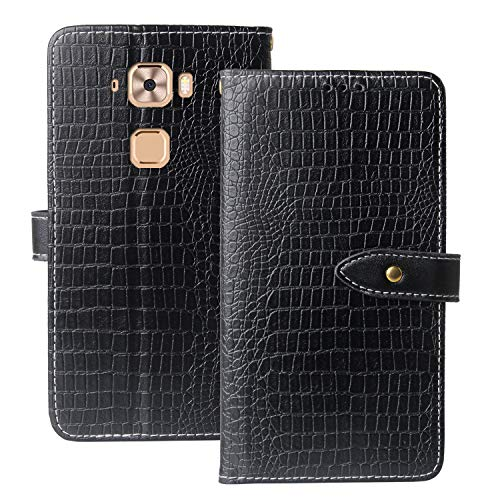 Lankashi Premium Handy Leder Tasche Hülle TPU Silikon Für MEDION Life X5520 MD 99607 5.5
