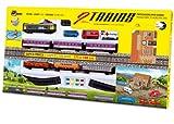 PEQUETREN - Tren Doble de viajeros y mercancías con Circuito de 4.4 m (900)