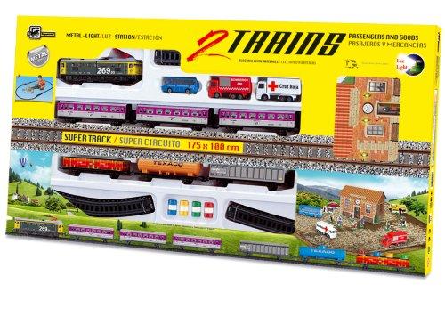 PEQUETREN - Tren Doble de viajeros y mercancías con