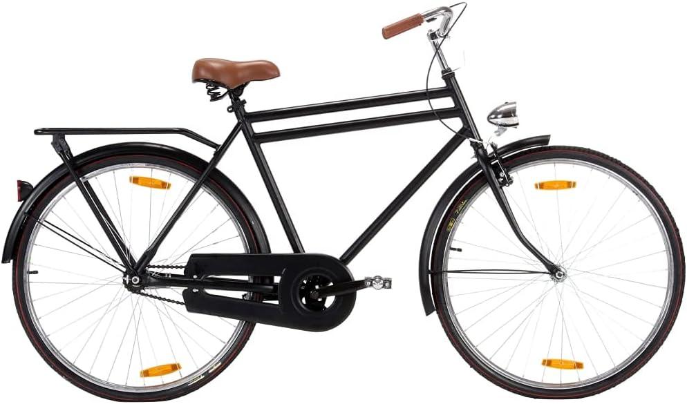 vidaXL Hollandrad 28 Zoll Rad Fahrrad 57cm Rahmen Tiefeinsteiger Damen/Herren