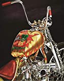 Indian Larry Rat Fink Daddy-O Bobber, Ltd Edition Motorcycle Art Print, Ratfink Wall Art Signed Numbered w/Certificate -Original Painting by John Guillemette