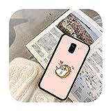 Lindo animal erizo teléfono caso para Galaxy J2 Prime J4 Plus J5 Prime J6 J7 Nota 5 7 8 9 10-a6-para Galaxy J6