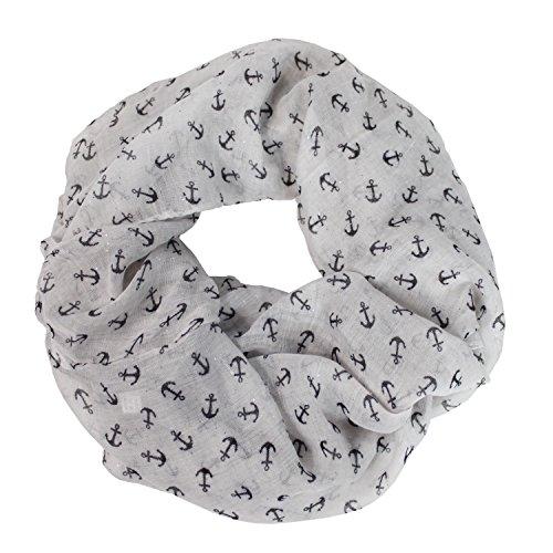 Glamexx24 Zomer sjaal Ronde sjaal Loop sjaal Viscose print Still motief