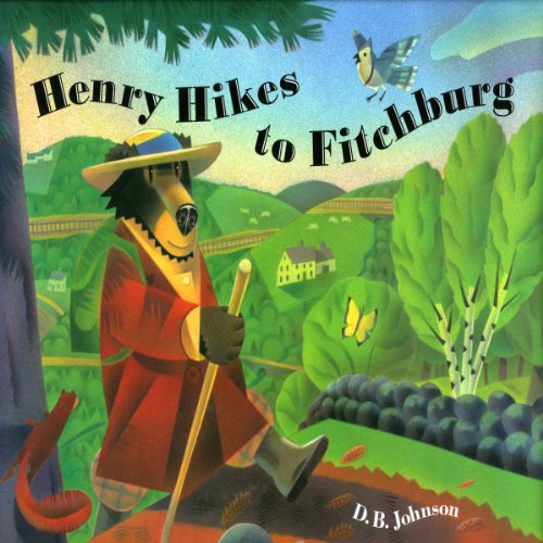 Henry Hikes to Fitchburg audiobook cover art