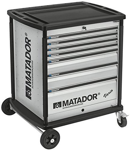 MATADOR 8164 0011 VARIO Werkstattwagen, leer, 7 - RAL 9006