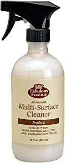 Fabulous Frannie All Natural Ingredients No Synthetics Protect Multi-Surface Cleaner made with Pure Essential Oils Clove, ...