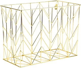Best gold wire wall basket Reviews