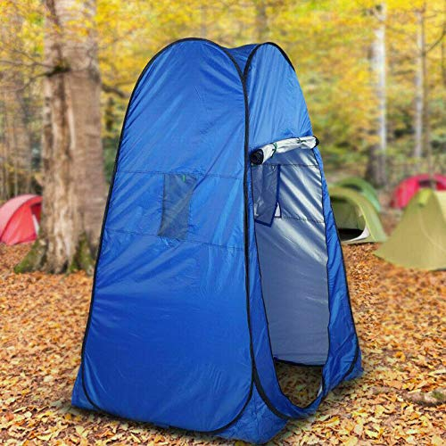 TRENDI Lightweight,Portable Instant Pop Up Tent Ideal For Camping Toilet, Shower, Privacy Space/Room For Camping Caravan Picnic Fishing and Festivals Holidays Beach Shower Changing Tent- Colour Varies