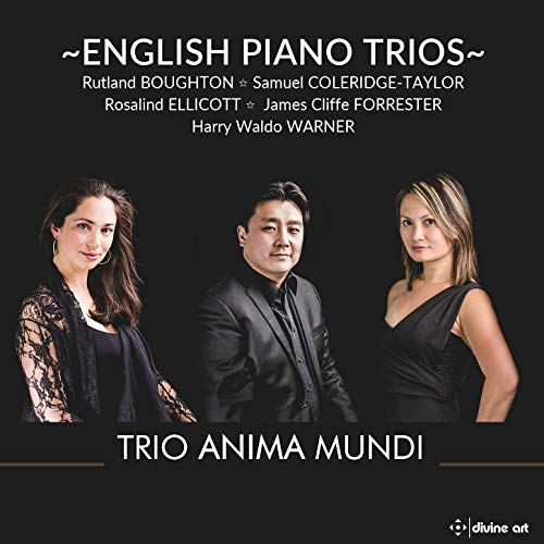 English Piano Trios [Trio Anima Mundi] [Divine Art: DDA25158]