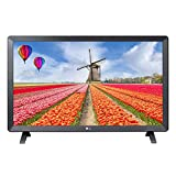 LG 24TL520S-PU TV Monitor, 24 Screen, LED-Lit, 1366 x 768 Pixels, 16: 9, 1 HDMI, 1 USB, 60 Hertz,...