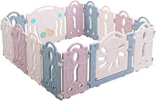 Relaxbx Baby Play Fence Children Activity Center Baby Plastic Crawl Toddler Protection Bar Baby Indoor Safety Playground