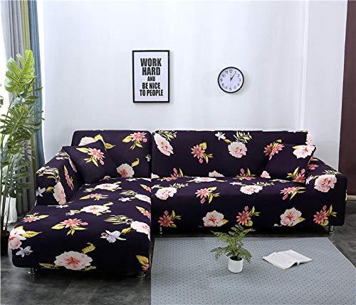 Funda Elástica de Sofá 1 plaza, funda de sofá elástica para sala de estar, funda de sofá, funda de sofá en forma de L, fundas de sofá de esquina para mascotas, funda para chaise de 90-140 cm