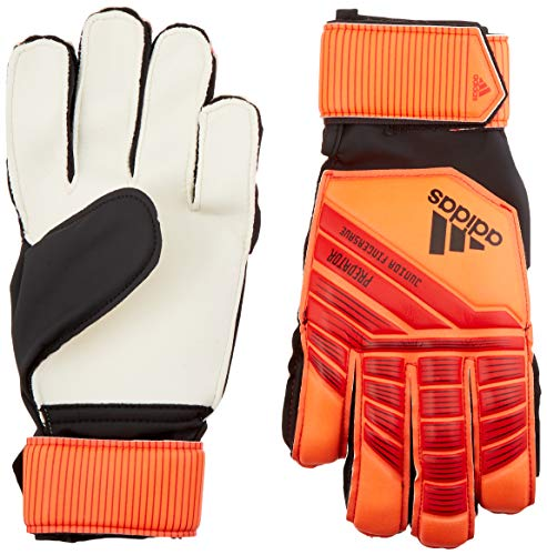 adidas Predatorator Junior Top Training Fingersaver Goalkeeper Gloves, Active Red/Solar Red/Black, Size 5