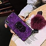 no brand WAYNEYOROSH Or Paillettes Marbre Téléphone Cas for Samsung Galaxy S10 S9...