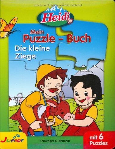 Heidi - Mein Puzzlebuch, Die kleine Ziege