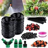 Gafild 149 PCS Bewässerungssystem Kit, 30m Garten Micro Drip Bewässerung Automatik Bewässerung Kit Schlauch...