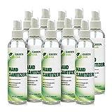 Hand Sanitizer - Green Oak Hand Sanitizer Liquid Spray (8oz 10-Pack)
