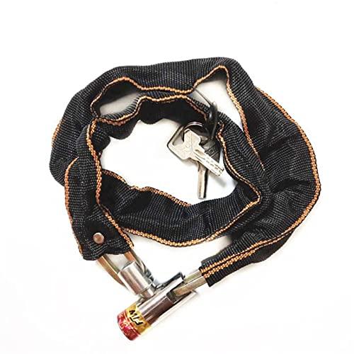 SZHXH 1pcs Heavy Duty Bicycle Block Black Scooter Bici Motore Bicicletta Catena Bicicletta Pad Lock Moto Accessori per Biciclette Moto