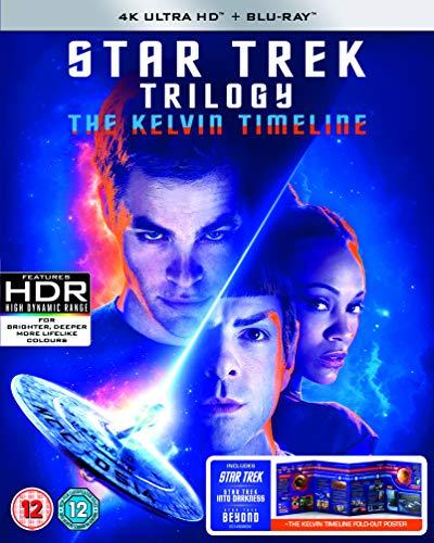 Star Trek (2009) / Star Trek Into Darkness / Star Trek Beyond - Kelvin Timeline [3xBlu-Ray 4K]+[3xBlu-Ray] (Keine deutsche Version)