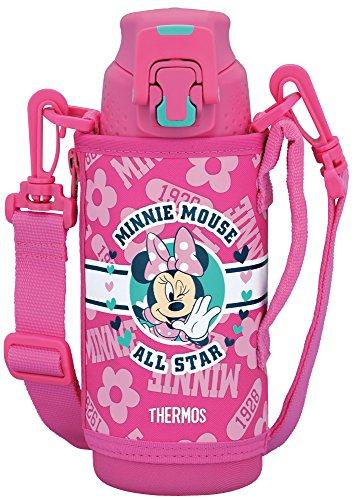 Thermos vacuum insulation sports bottle Disney Minnie 0.5L Pink Flower FFZ-501FDS PFL
