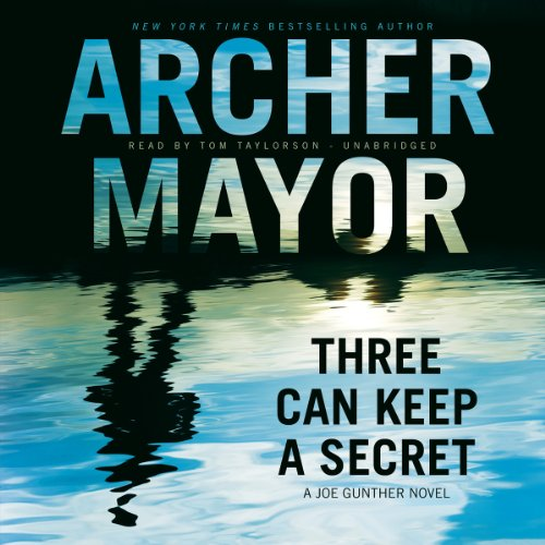Three Can Keep a Secret audiobook cover art