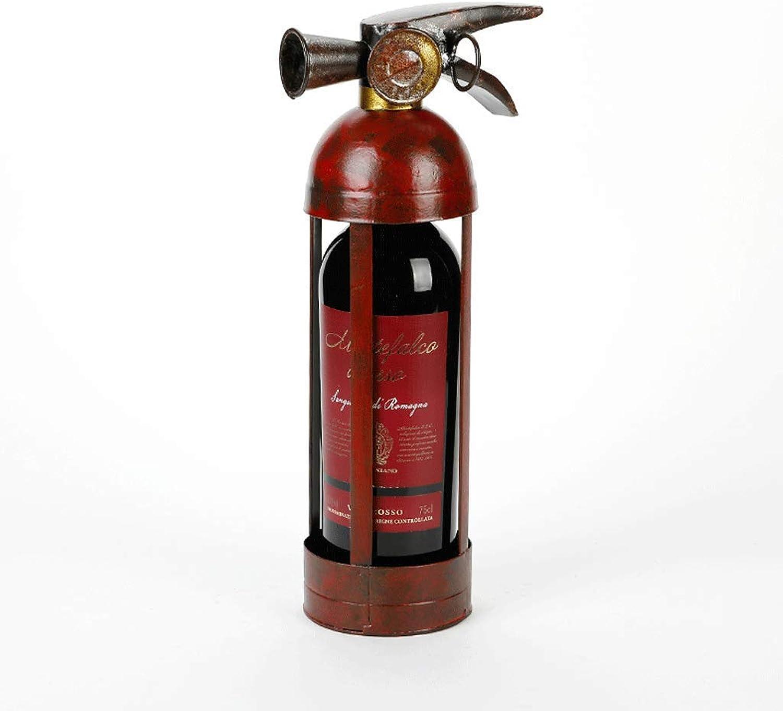 online al mejor precio WENYAO Iron Wine Wine Wine Rack Multifuncional Adornos creativos Simulación Botella de Vino Soporte Sala de Estar Cocina Bar Muebles de Mesa  Descuento del 70% barato