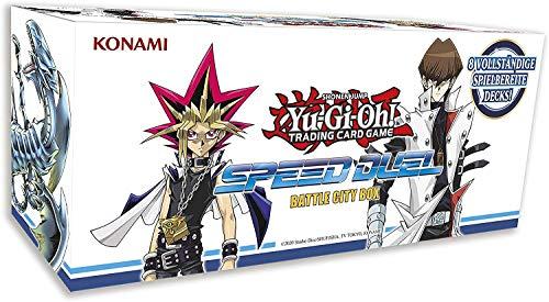 Konami - Speed Duel Battle City Box - Yu-Gi-Oh! - Deutsch - mit GECO Spielmatte