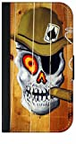 Smoker Skull-Graffiti Wall Art-TM PU Leather and Suede Case Compatible with The Apple iPad« Mini Versions 1,2, and 3 Made in The USA