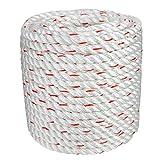 Arborist Bull Rope | High Strength Polyester | Tree Hoist Rigging Line | 1/2 inch x 150 feet