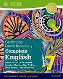 Cambridge lower secondary complete English. Student's book. Per la Scuola media. Con espansione online (Vol. 7) (Cambridge Lower Secondary Complete English 7)
