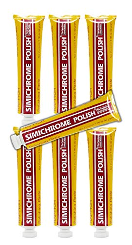 Simichrome Polish 1.76oz 50 Grams Tube (6-Pack)