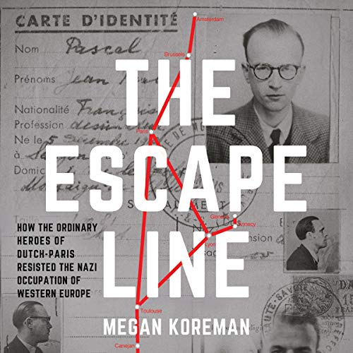 The Escape Line audiobook cover art