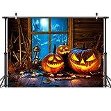 LYWYGG 7x5FT Fondo de Fotografía de Halloween Fondo de Noche de Halloween Fondo de Fotografía de...