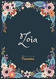 Zoia - Taccuino: Taccuino A5 | Nome personalizzato Zoia | Regalo di compleanno per moglie, mamma, sorella, figlia | Design: floreale | 120 pagine a righe, piccolo formato A5 (14.8 x 21 cm)