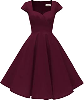 burgundy cap sleeve dress