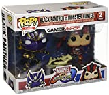 Marvel Pack Pop Vs Capcom: Infinite - 2 Figuras Black Panther Vs Monster Hunter...