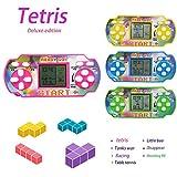 Dadiku Kisshes Mini Handheld Spiel für Tetris Racing Car Handheld-Konsole für Kinder Spielzeug...