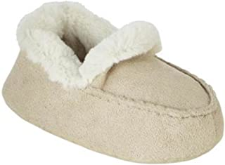 WonderKids Infant Girls White Faux Fur Boot Slippers Bootie House Shoes 4 Tod
